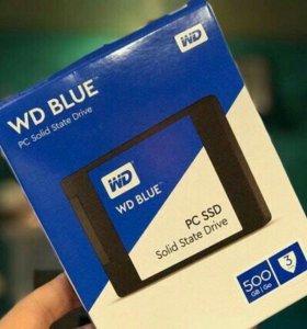 SSD диск 500Гб.