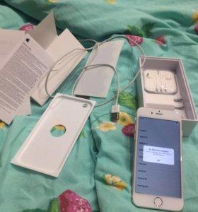 iPhone 6 16gb gold в отличном состоянии