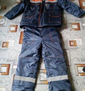 Зимний костюм для пониженной темп., влагостойкий