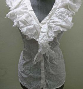 Блуза 100% хлопок без рукав