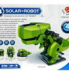 Робот на солнечных батареях