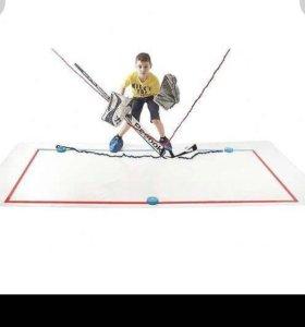 Хоккейный тренажёр для вратаря- новый