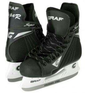 Новые Хоккейные коньки GRAF р.44_45
