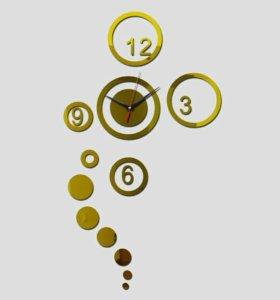 Часы 3d настенные