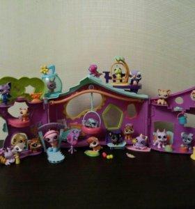 Дом+20 игрушек ЛПШ+ сумочка для хранения