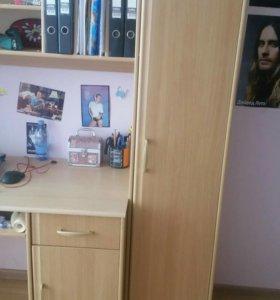 Учебное место со шкафами