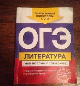Подготовка к ОГЭ по литературе