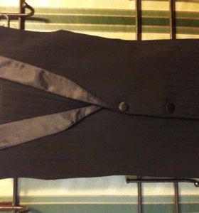 жилетка+брюки танцевальные Стандарт Ю-1