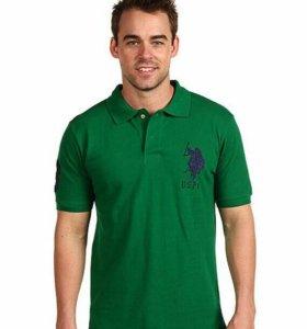 Рубашка Поло U.S. Polo Assn Зеленая