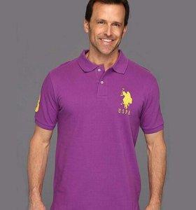Рубашка Поло U.S. Polo Assn. Фиолетовая