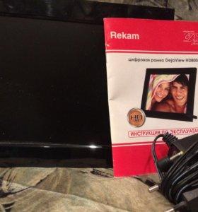 Цифровая фоторамка Rekam