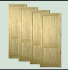 Срочно. Дверь 🚪 деревянная новая.
