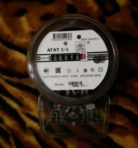 Счетчик электроэнергии однофазный Агат 1-1