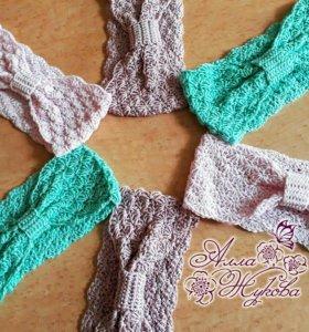 Модные повязочки для девочек