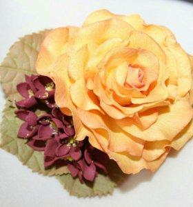 Заколки, украшения, цветы из фоамирана