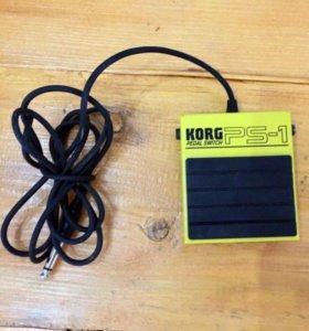 Korg PS1 педаль для синтезатора