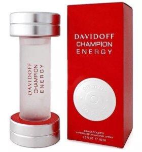 DAVIDOFF CHAMPION ENERGY 90 мл