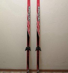 Лыжи + лыжные палки