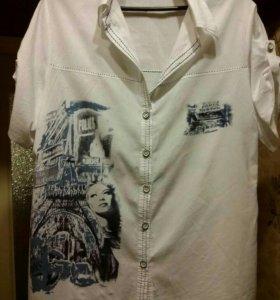 Рубашка на 54раз