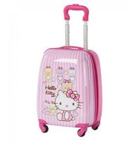 Детский чемодан Хелоу кити