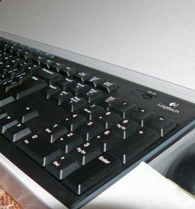 Комплект клавиатура + мышь Logitech Wireless MK270