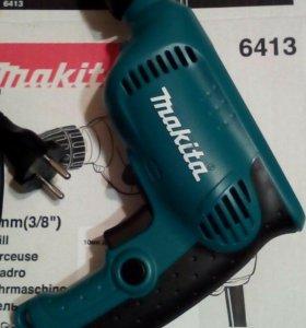 Новая дрель Makita 6413