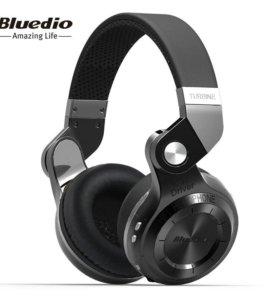 Hi-Fi bluetooth наушники Bluedio T2+ FM и SD Card