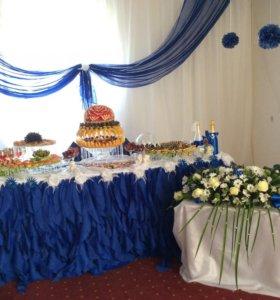Свадебный фуршет/карвинг арбуза