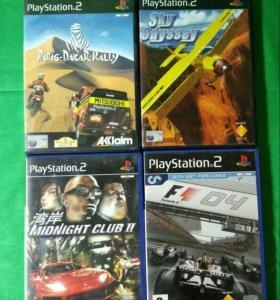 Лицензионные игры для PS2