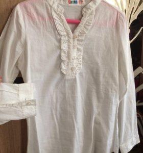 Рубашка х/б р.134-140