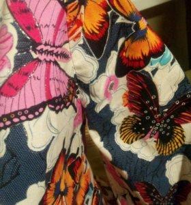 Пиджак с бабочками