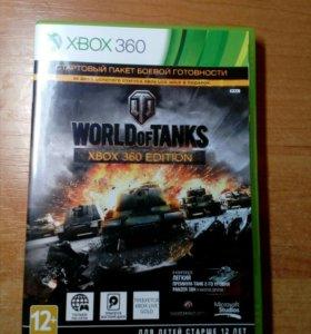 Диск для XBOX360 World of Tanks