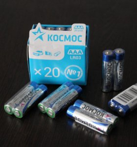 Батарейки алкалиновые