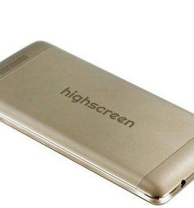 highscreen power rage, золотистый цвет