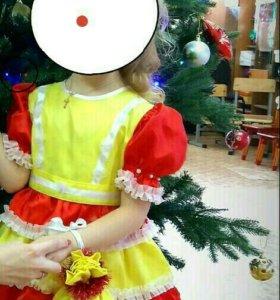 Новогодний костюм куклы
