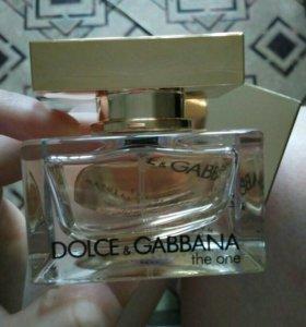 Dolce Gabbana the one 30мл новый