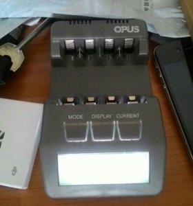 OPUS умное зарядное устройство, АА и ААА