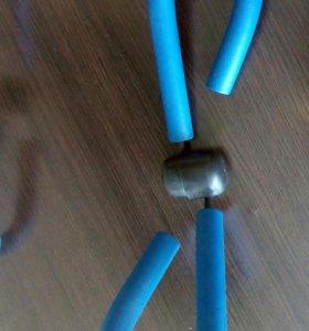 Тренажёр для похудения и скакалка