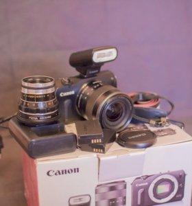 Canon eos-m 17-50