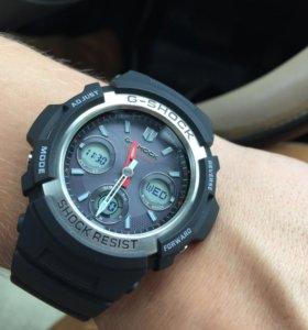 Casio g-shock awg m100