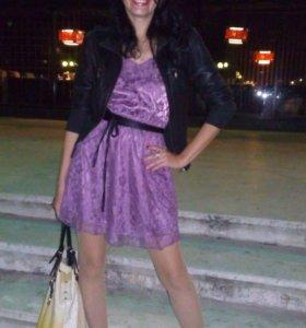 Платье -гипюр.