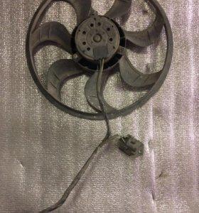 Вентилятор охлаждения Ford Focus 1 (с A/C)