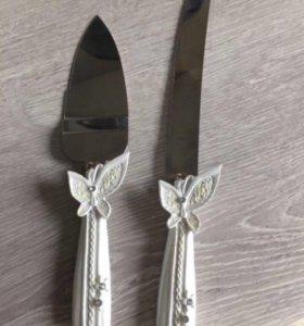 Свадебный набор (нож+зонт+кульки)