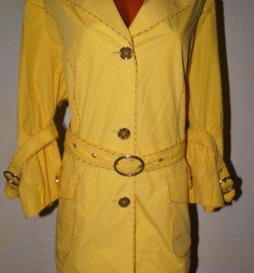 Курточка-ветровка р 52-54 ( лучше на 50-52)