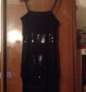 Вечернее платье в стиле 20-х г.