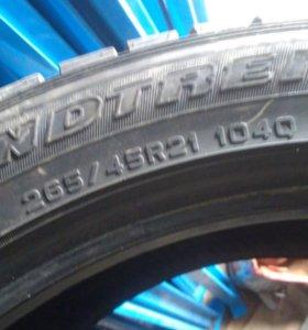 Шины Dunlop 265/45/21