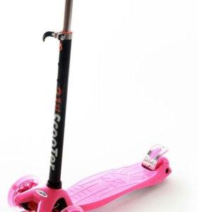 Самокат скутер новый