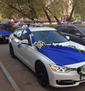 Свадебный кортеж BMW Альметьевск