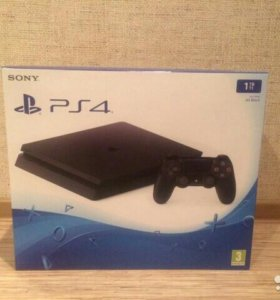 Sony Playstation 4 slim 1tb на гарантии
