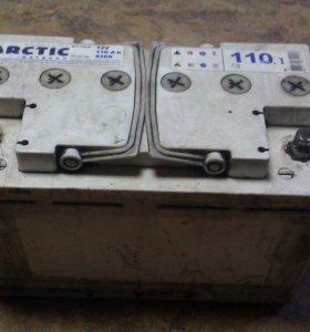 Аккумулятор Тюмень ARCTIC 110Ah б/у